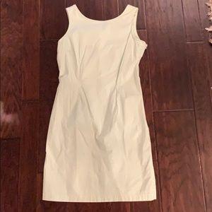 Jones of New York green and white dress